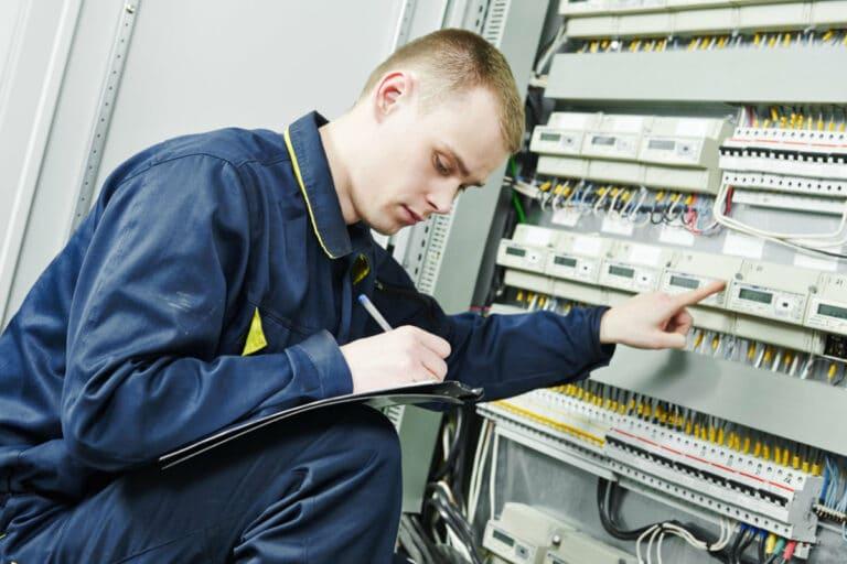 controle electrique vente maison